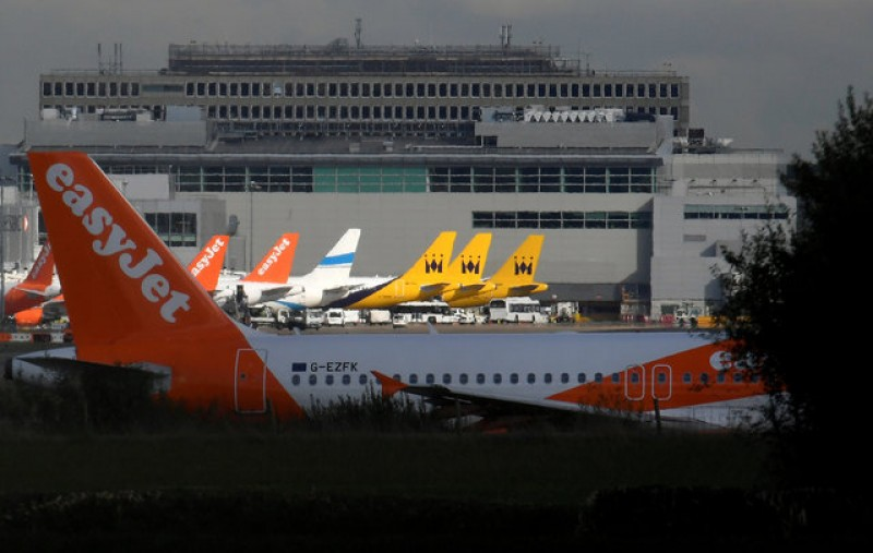 EasyJet says first quarter in line as competition continues to bite