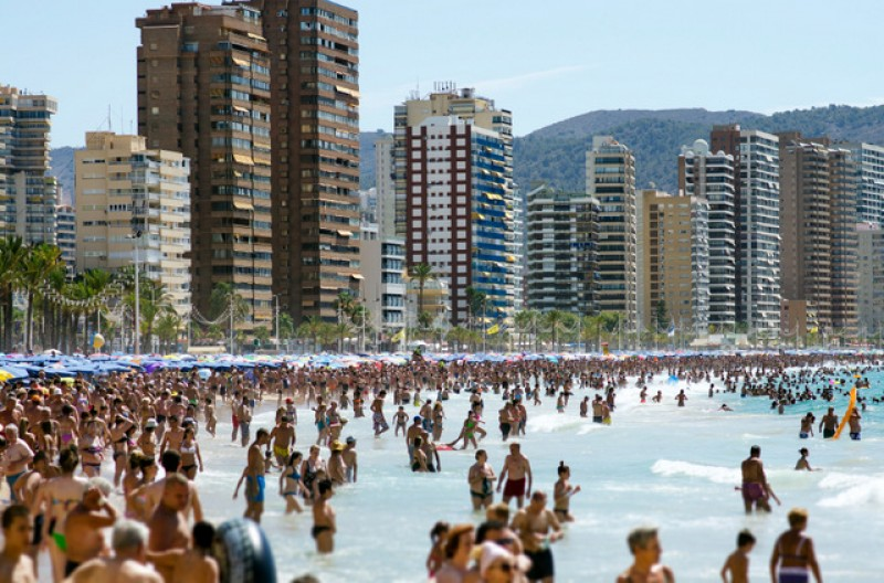 Almost 18 million UK tourists visited Spain last year