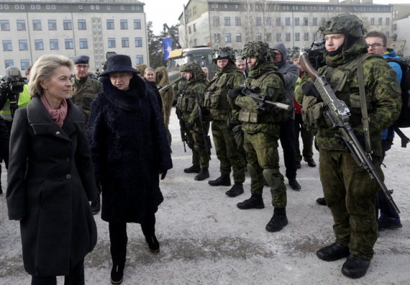 NATO troops deploy in Lithuania, underscoring commitment to defence