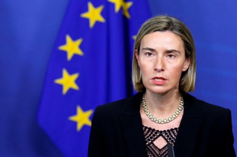 EU's Mogherini says U.S. will fully implement Iran nuclear deal