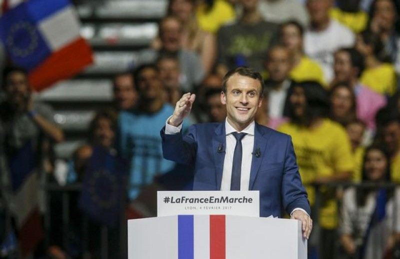 France's Macron seen winning French presidential vote