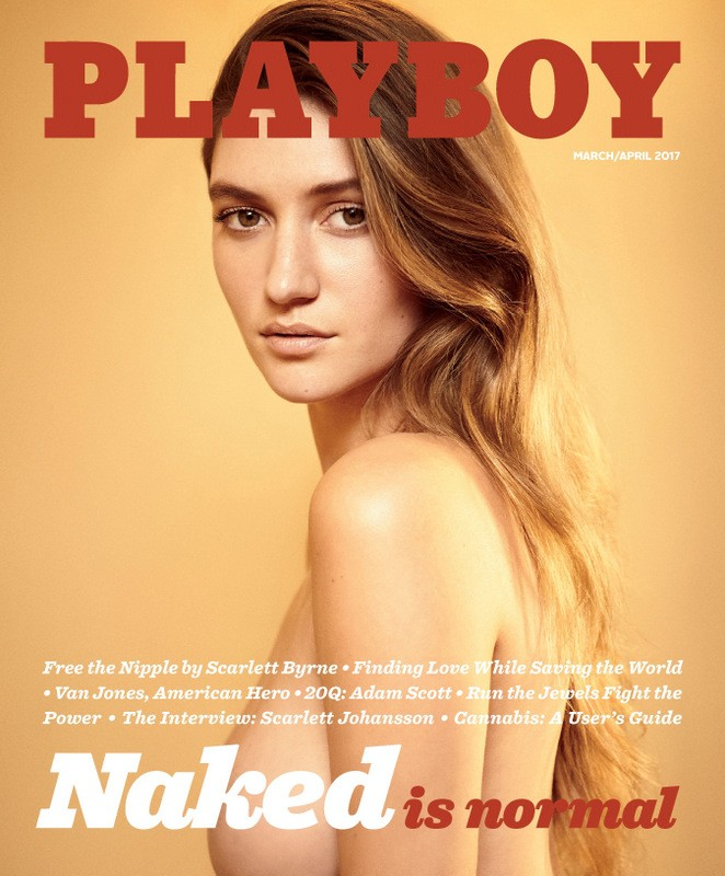 Playboy brings back nudes, a year after ditching them