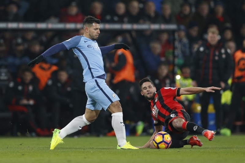 Man City win 2-0 against Bournemouth