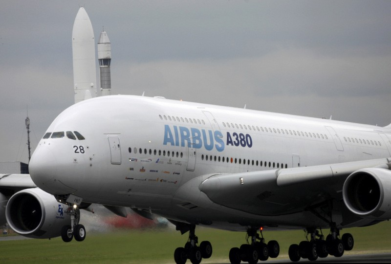 Paris museum gets an Airbus A380 superjumbo