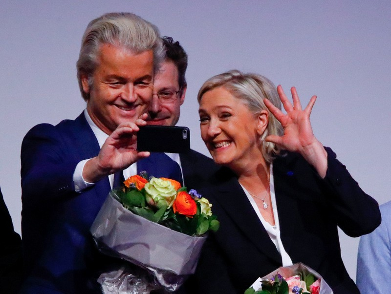 Anti-Islam Wilders frontrunner as Dutch election campaign begins