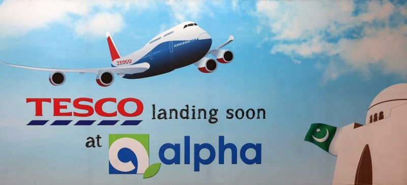 Tesco tests waters in Pakistan with Alpha Supermarkets tie-up