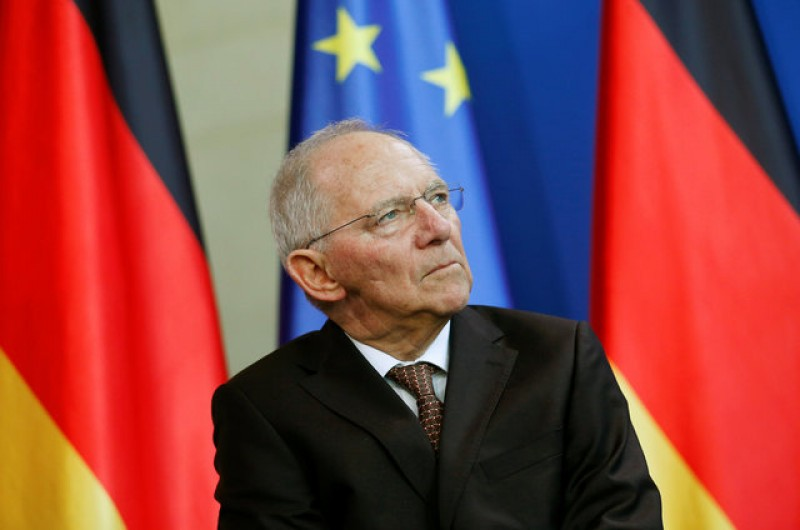 Germany's Schaeuble says EU must assume more active global role