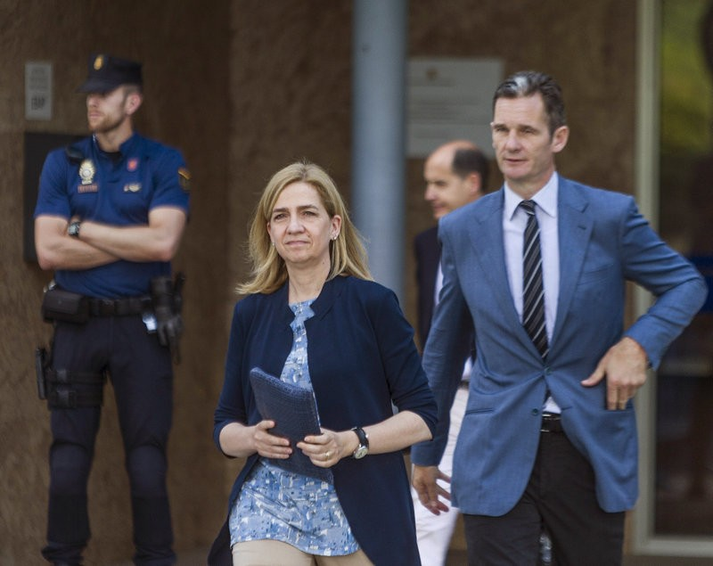 Princess Cristina found not guilty by Palma court