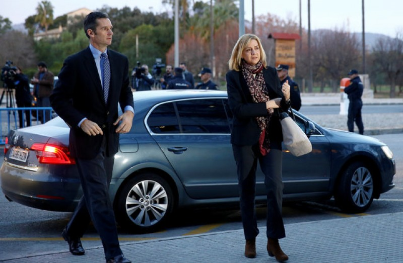 Princess Cristina not guilty but fined, Iñaki Urdangarin guilty but not in jail