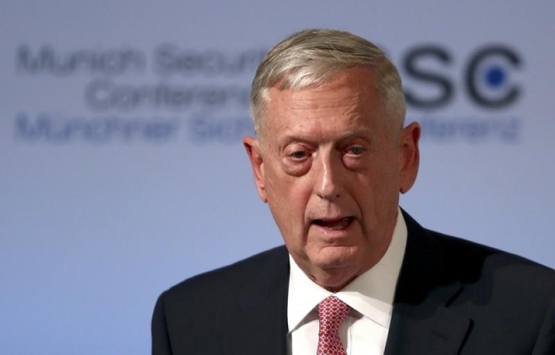 Mattis warns of 'arc of instability' on Europe's edge