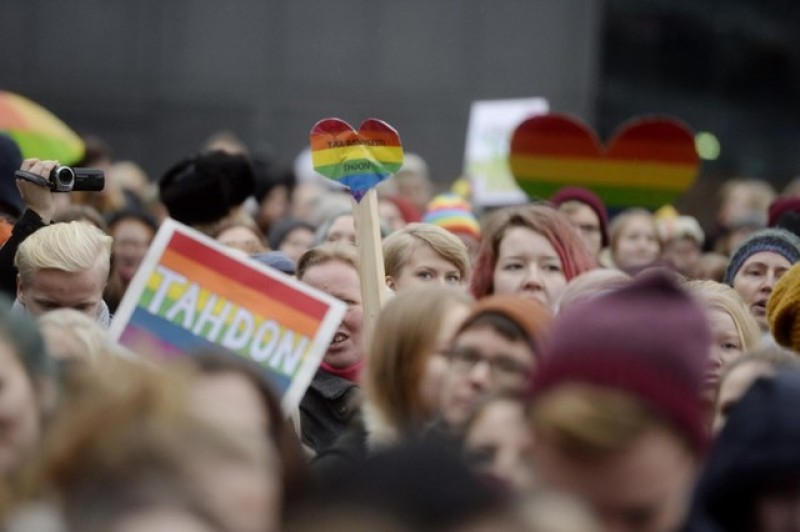 Finnish parliament confirms same-sex marriage law
