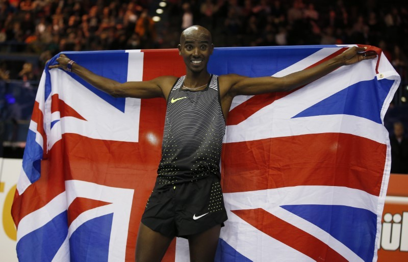 Farah bows out indoors with European record