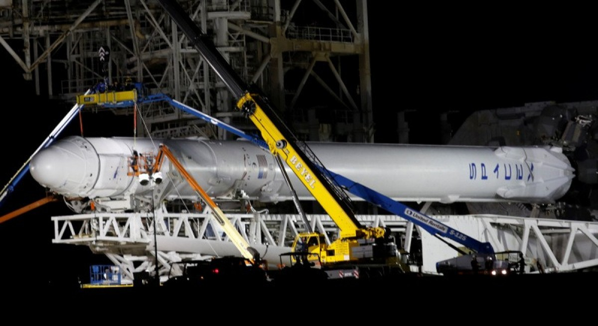 SpaceX launches rocket from NASA pad in Florida, completes relanding