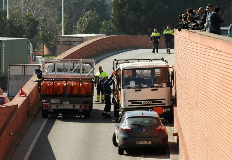 Barcelona butane lorry thief had indulged in an orgy of sex and drugs