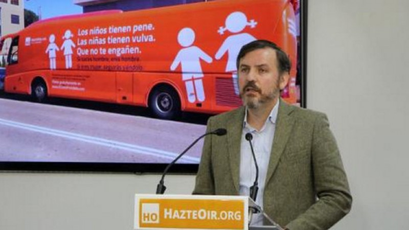Madrid Town Hall bans anti-transsexual bus campaign