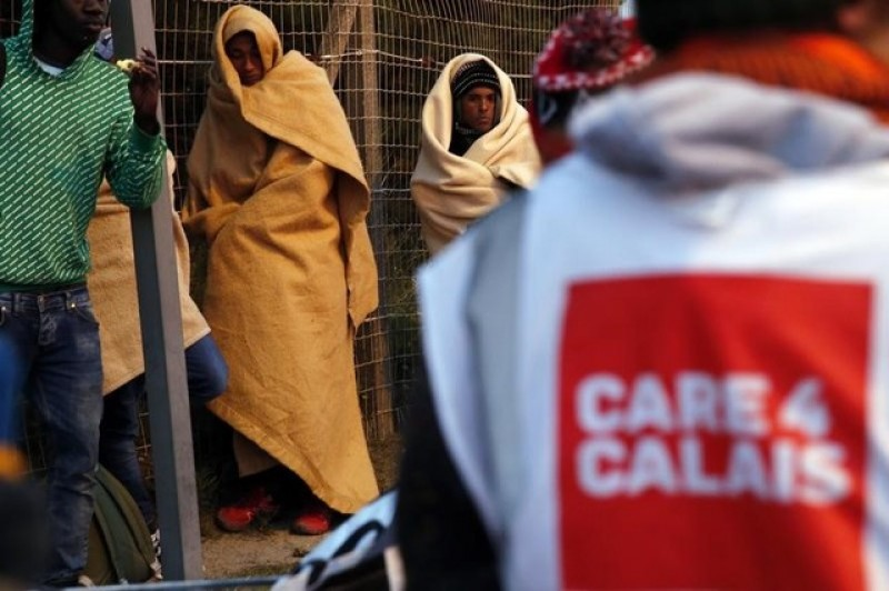 Charities slam Calais ban that could halt food aid for migrants