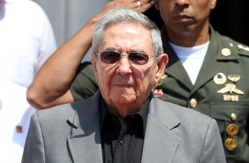 Cuba's Raul Castro blasts Trump's Mexican wall and trade policy