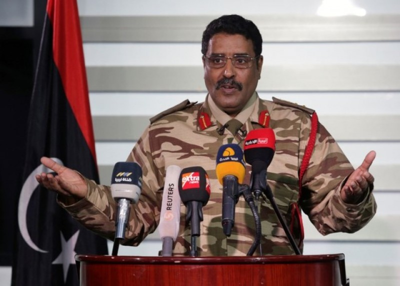 East Libyan forces mobilising for counter attack at oil ports