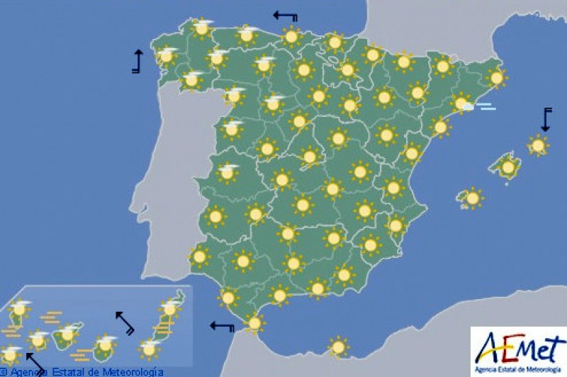 Spain enjoys summer weather in early March