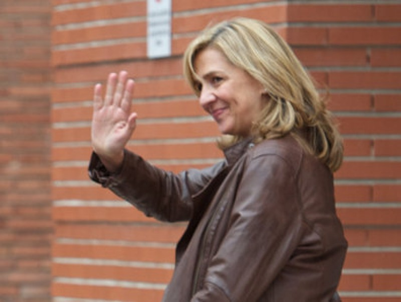 Princess Cristina hopes to ban the use of Noos Case trial images