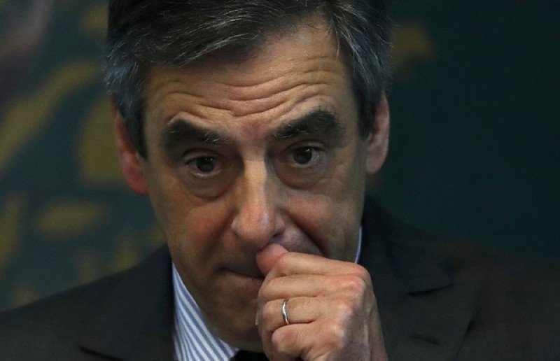 France's Fillon under formal investigation for fraud ahead of election