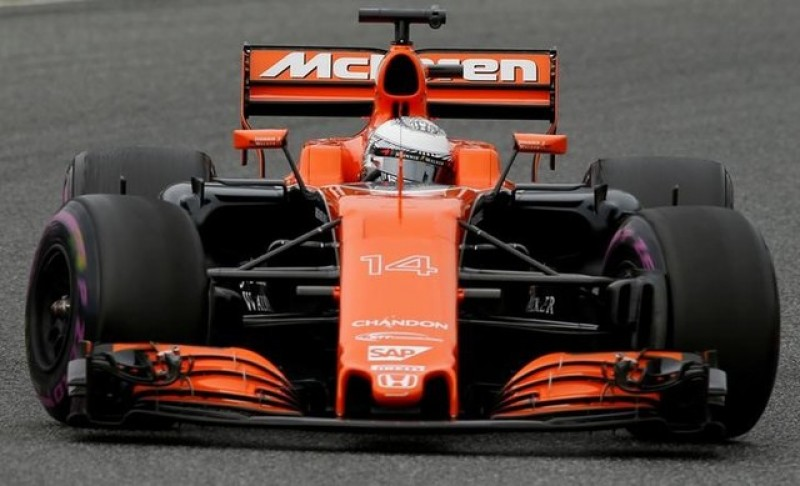 Spain's Alonso unimpressed with McLaren's Honda engine