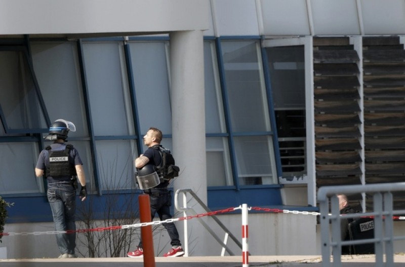 At least three injured in French school shooting, one arrested