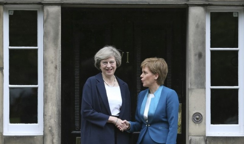 'Now is not the time' May tells Scotland on independence vote