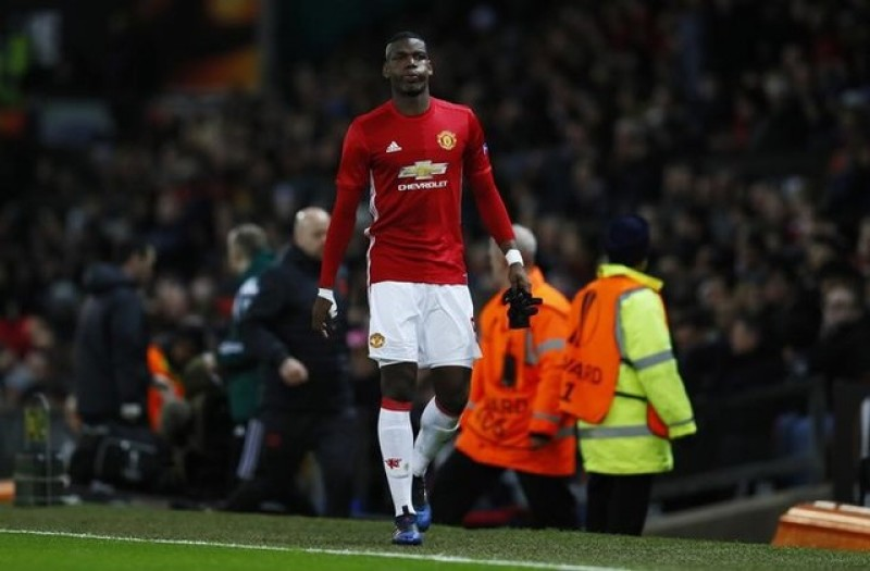 Injured Pogba ruled out of Manchester United's trip to Boro