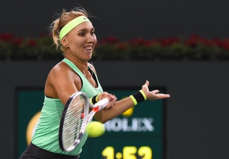 Vesnina ousts Venus to reach semi-finals at Indian Wells