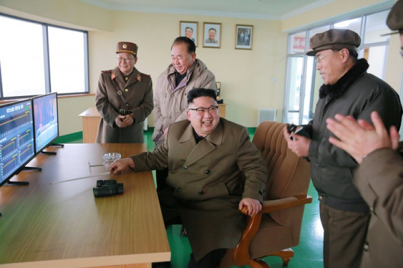 North Korea rocket-engine test shows 'meaningful' progress