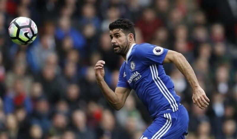 Chelsea benefiting from Costa's cool head, says Courtois