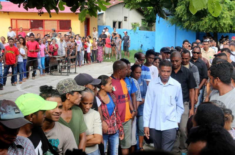 Former resistance fighters vie for presidency in East Timor