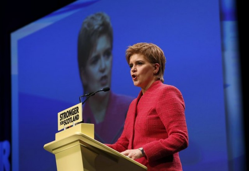 Scottish leader softens stance on possible independence vote timing