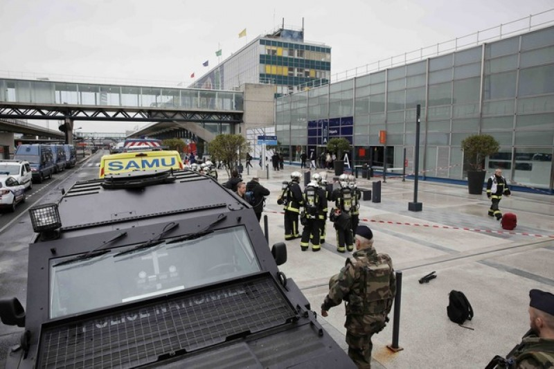 Airport shooting reignites security debate before French election