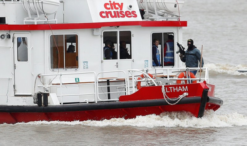 London police simulate Thames boat hijacking in counter-terror exercise