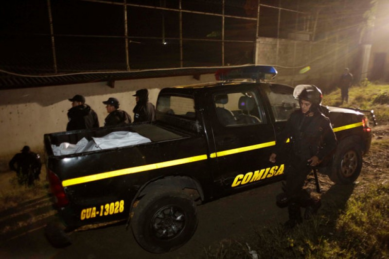 Two killed, nine wounded in attacks on Guatemalan police