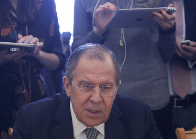 Russia's foreign minister says ready to discuss reducing nuclear arms