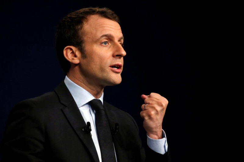 Centrist Macron seen winning French presidential vote