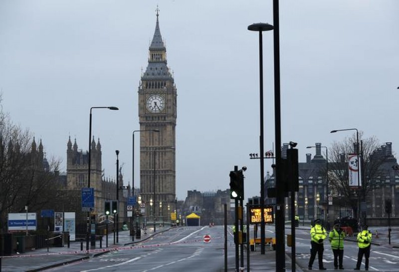 Five dead, around 40 injured in parliament terrorist attack