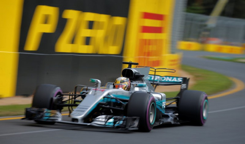 Motor racing - Hamilton fastest in first free practise in Australia