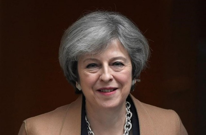 May to press for strong union on Scotland visit
