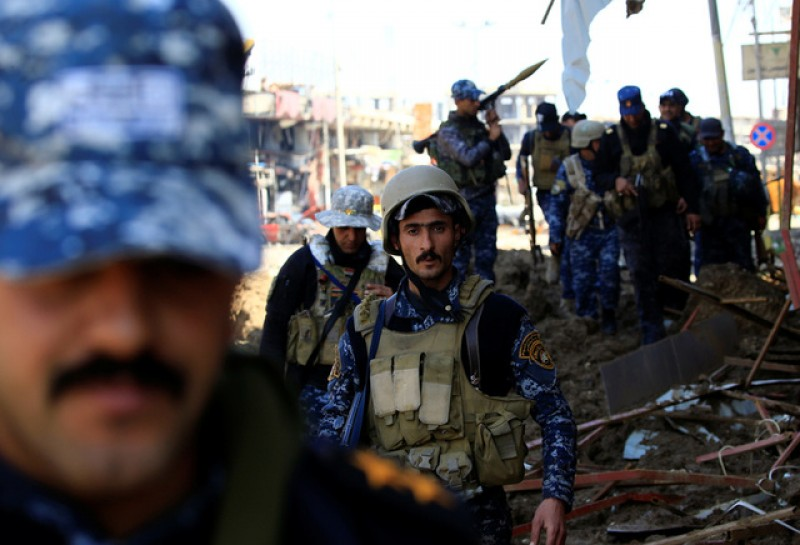 U.S. sees probable role in Mosul blast, probe under way