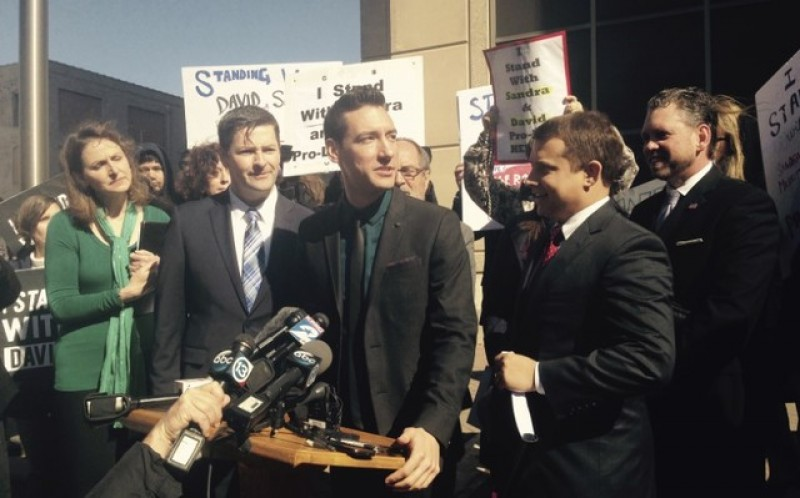 Activists who filmed Planned Parenthood workers charged in California
