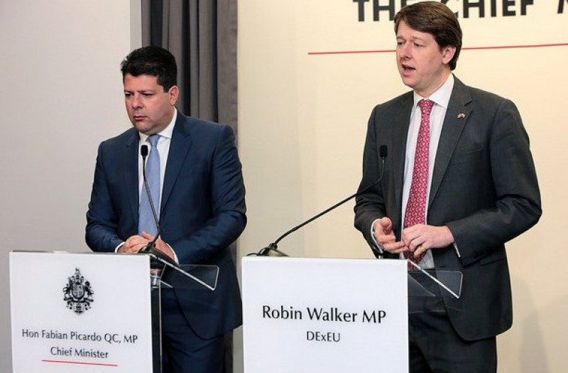 Gibraltar Chief Minister reacts to triggering of Article 50
