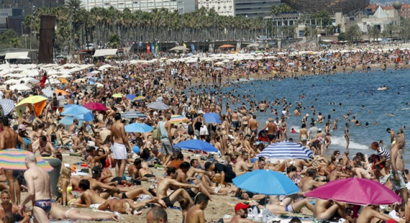 14 per cent more British tourists visited Spain this February