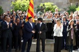 Catalan leaders vow to hold independence referendum this year