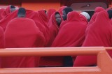 105 illegal immigrants rescued off the Almería coast