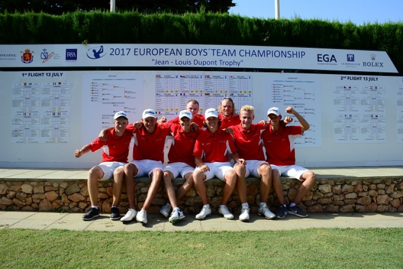 Great Danes ruin Spanish golf dream at La Manga Club