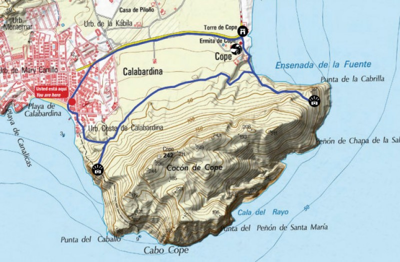 Walking in Águilas: the headland of Cabo Cope